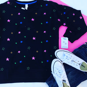 Star Burst Sweater