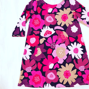 You Grow Girl Pink Swing Dress
