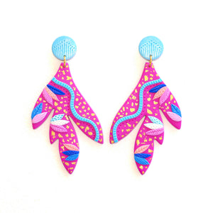 Wild Thing Gift Set Earrings & Headband Pink