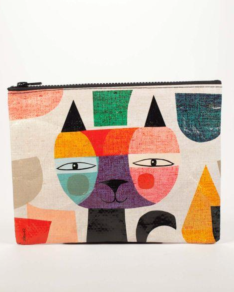 Mister Cat Zipper Pouch