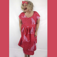 I Spotted You LONGER LENGTH Sundress - red