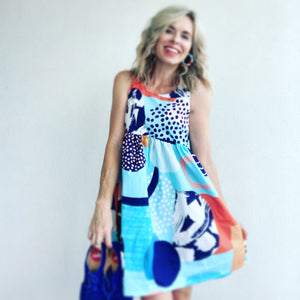 Sea La Vie LONGER LENGTH Sundress