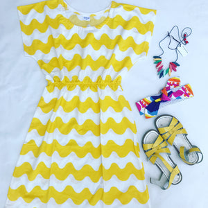 Lokki Waves Tee Dress