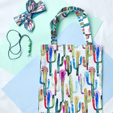 Cactus Makes Perfect Tote