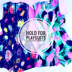 Layby Hold Deposit for PLAYSUITS