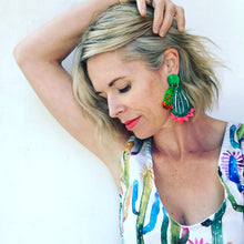 Cactus Makes Perfect Statement Earrings