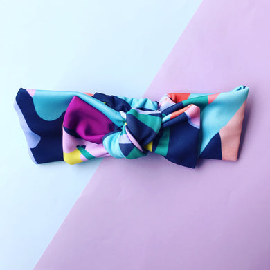 What The Bloom Bow Headband