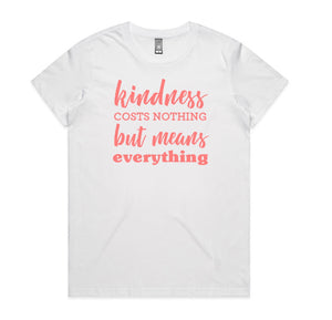 Kindness Slogan Tee