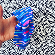Funfetti Confetti Blue Twist Headband