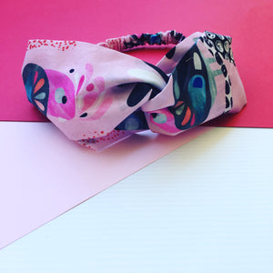 Flock Yeah Pink Twist Headband