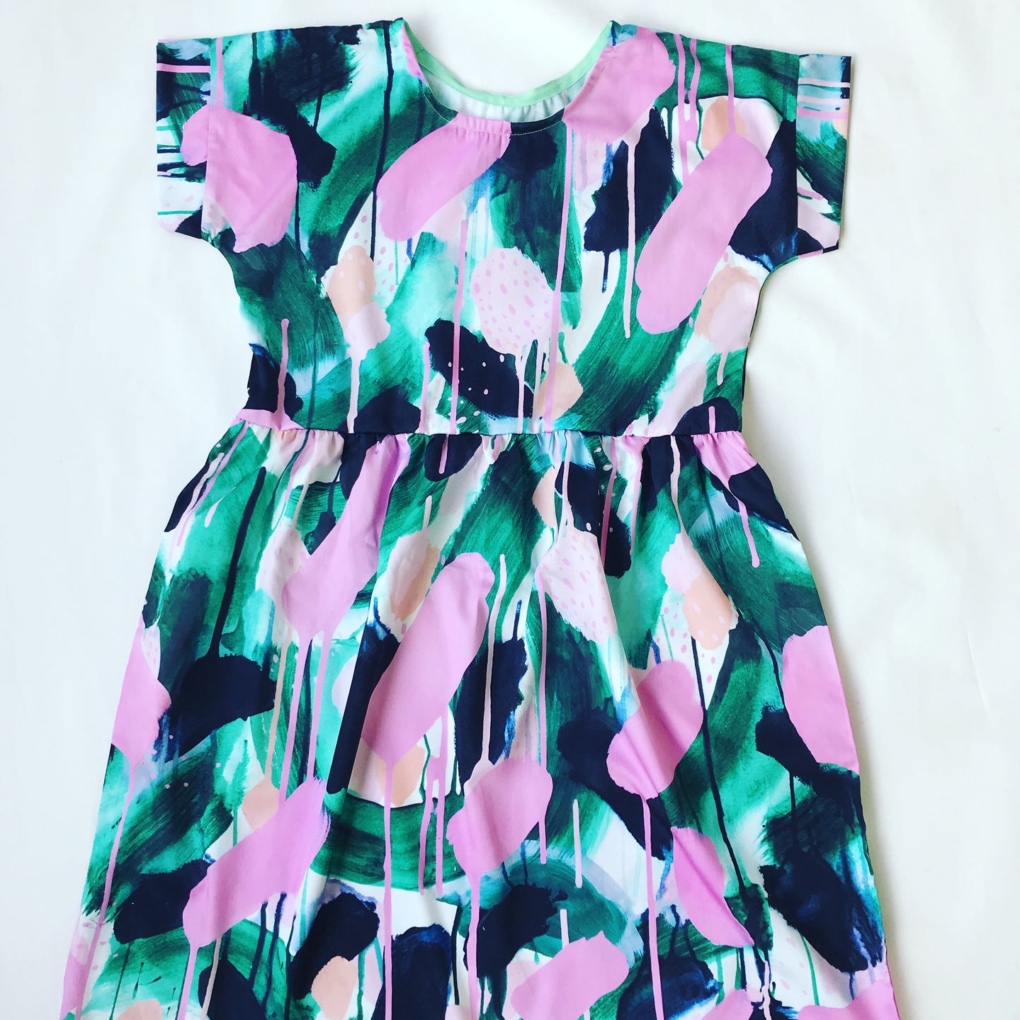 Green With Envy Relaxed Dress