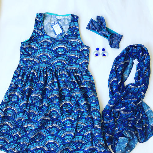 Kondoli Whale Sundress