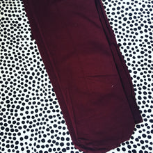 Opaque Tights - Burgundy