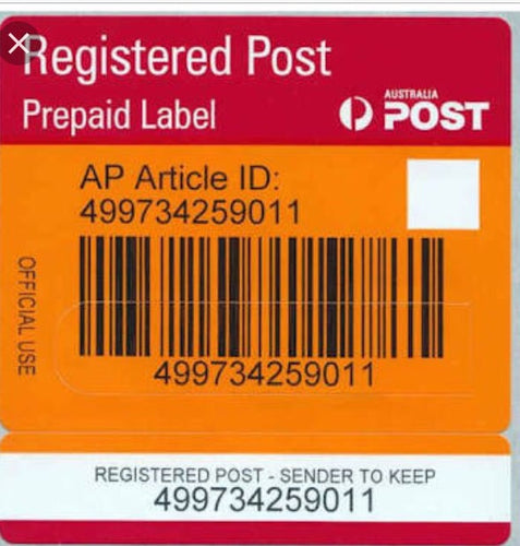 REGISTERED POST