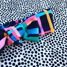 Checkmate Bow Headband