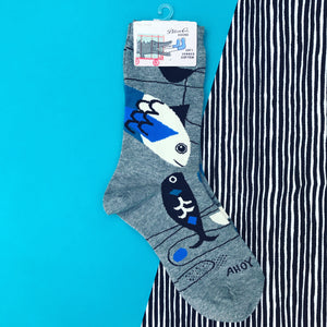Copy of Blue Q X Inaluxe Crew Socks Ahoy