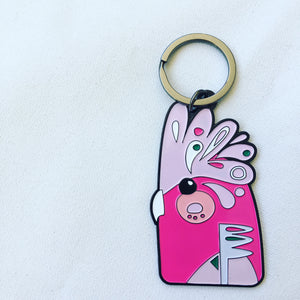 Galah Key Chain