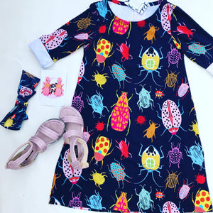 Bug Off Swing Dress