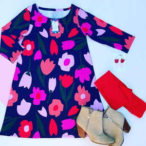 Spring Fling Swing Dress