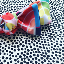 Rainbow Dreams Bow Headband - white