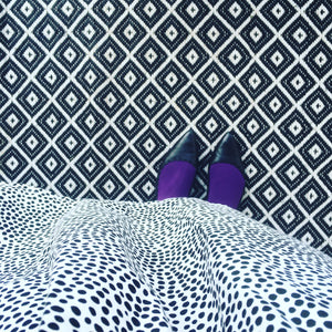 Opaque Tights - Violet