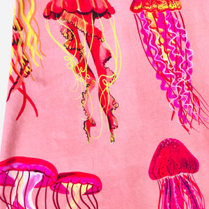 You Wish Jellyfish LONGER LENGTH Peach Sundress