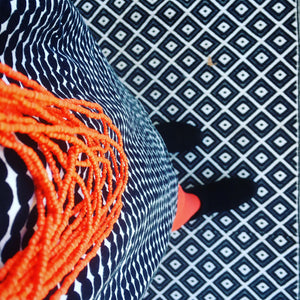 Opaque Tights - Orange