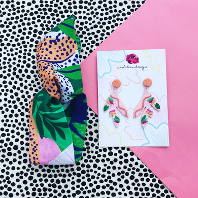Wild Thing Gift Set Earrings & Headband