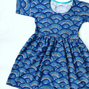 Smocked Winter Kondolli Dress