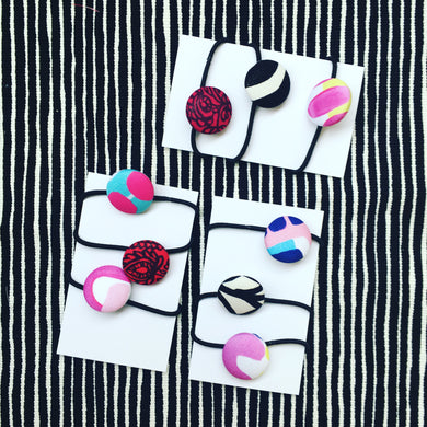 Hair Elastics Pinks