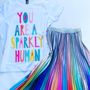 Sparkly Human Tee