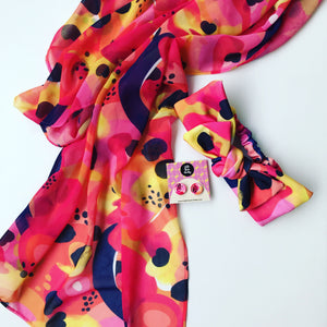 Paradisco sheer scarf