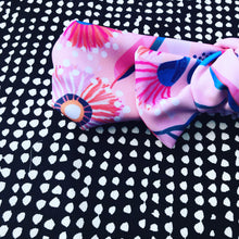 Native Blooms pink Bow Headband