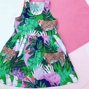 Wild Thing Sundress Greens
