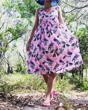 Flock Yeah LONGER LENGTH Pink Sundress