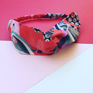 Flock Yeah Red Twist Headband