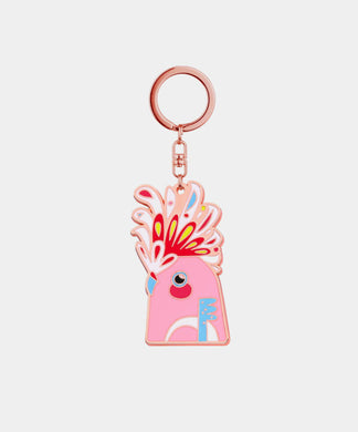 Major Mitchell Keychain - rose gold metal