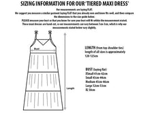 Moving Mountains Tiered Maxi Dress