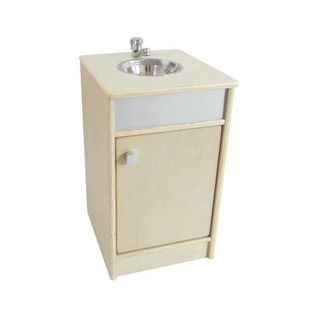 Tikktokk natural kitchen sink unit cubby and kids tap to expand