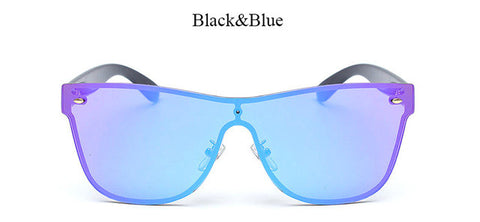 Brand Fashion Unisex Mirror Sunglasses