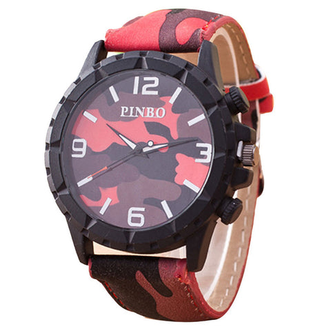 New! Fashion Camo Men Watch