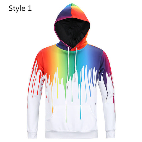 Multiples Designs & Colors 3D Hoddie's