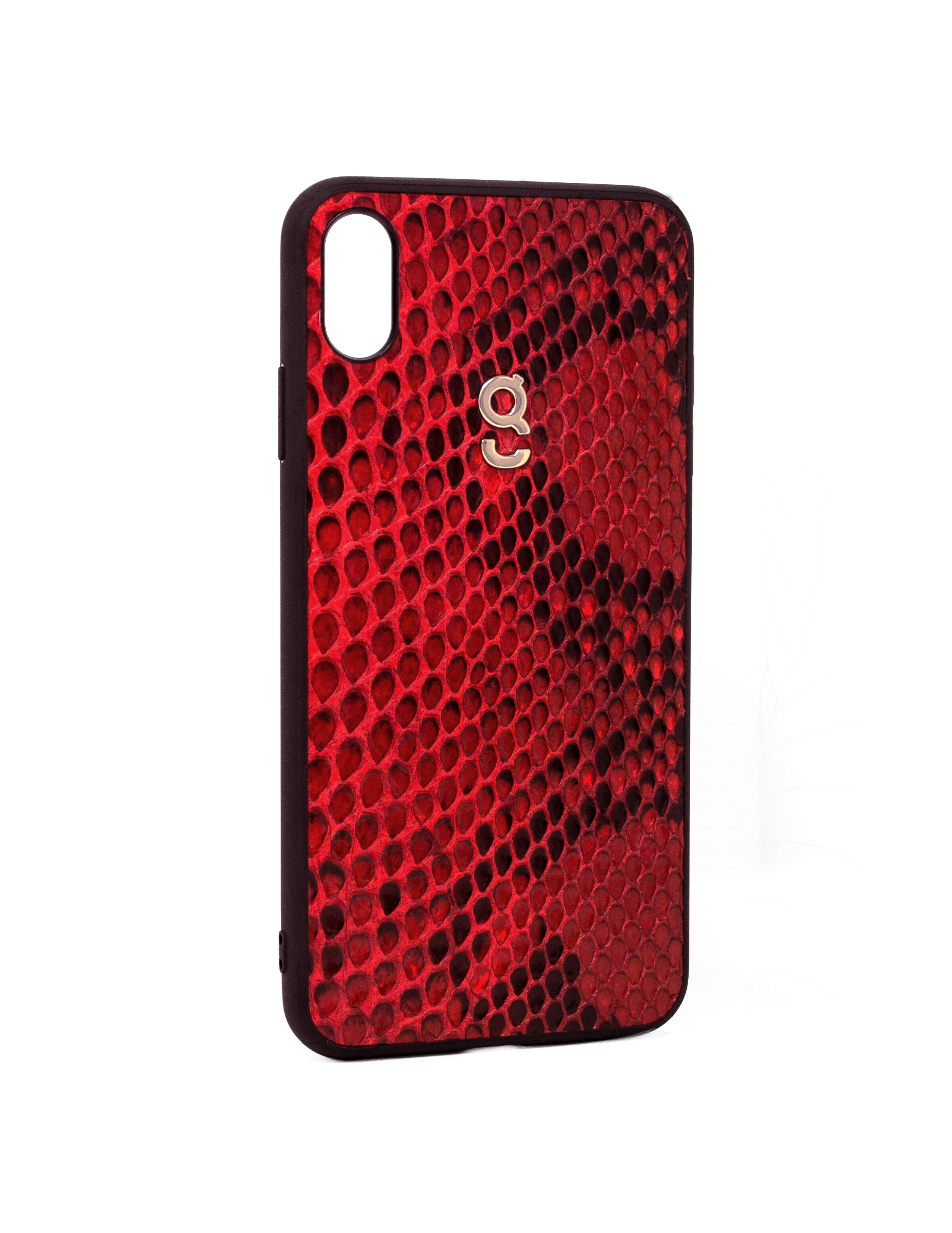 Rosso corsa python - iPhone XS Max case - gcoulee