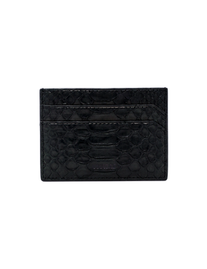 Card case in black python - gcoulee