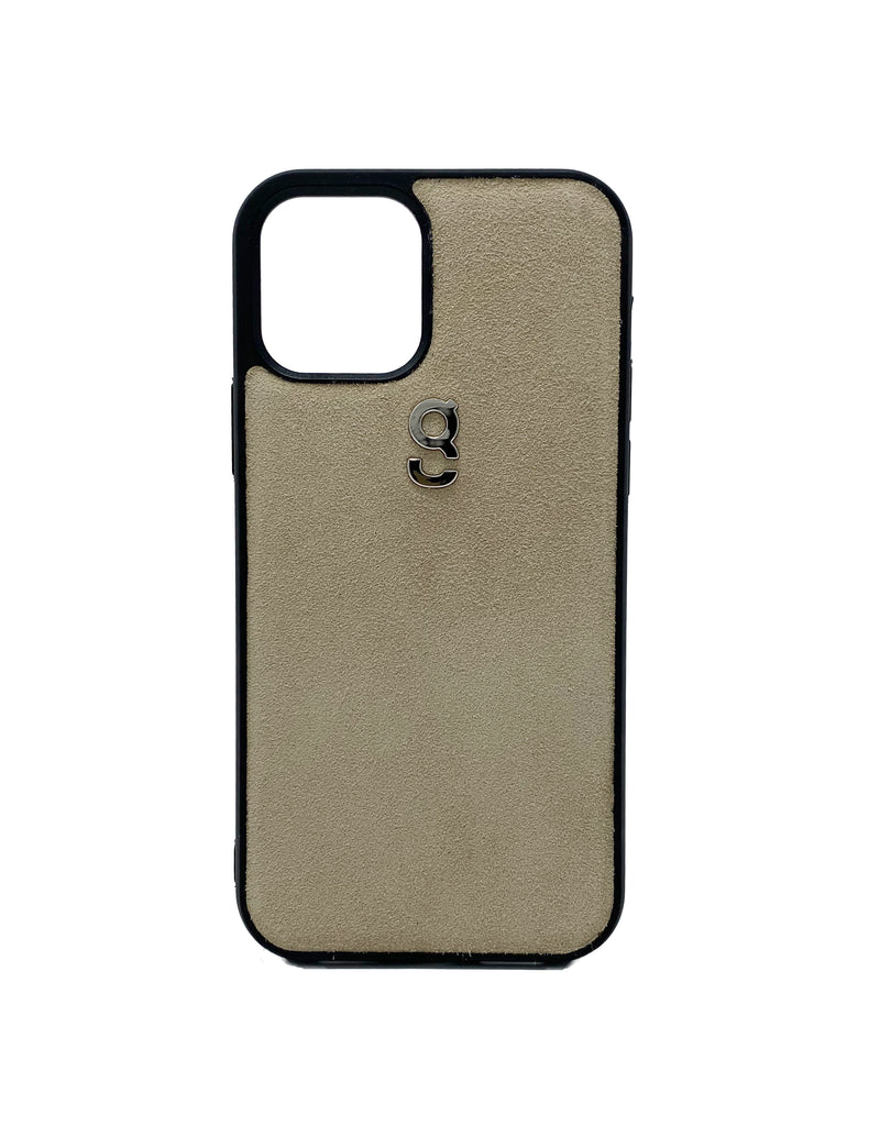 Beige suede - iPhone case - gcoulee