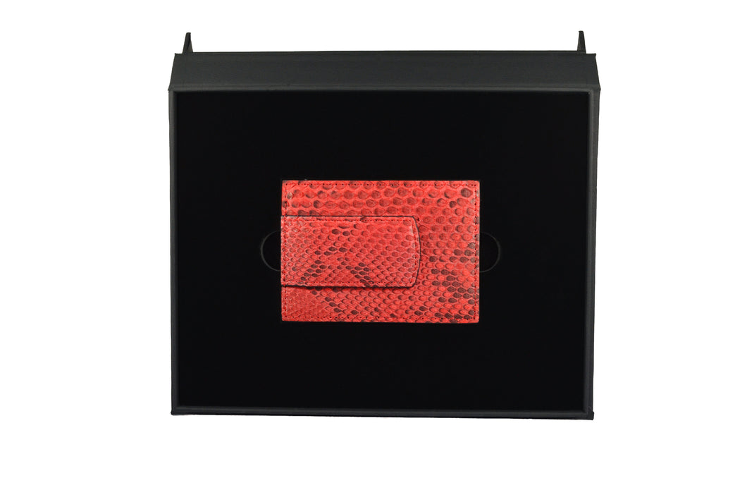 Red money clip - gcoulee