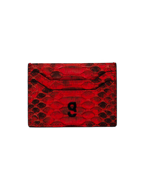 Red II - card holder - gcoulee