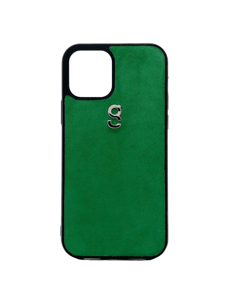 Green suede - iPhone case - gcoulee