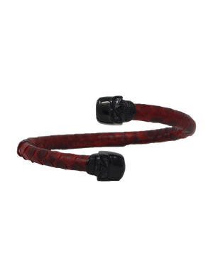 Bangle bracelet - Signature red python - gcoulee