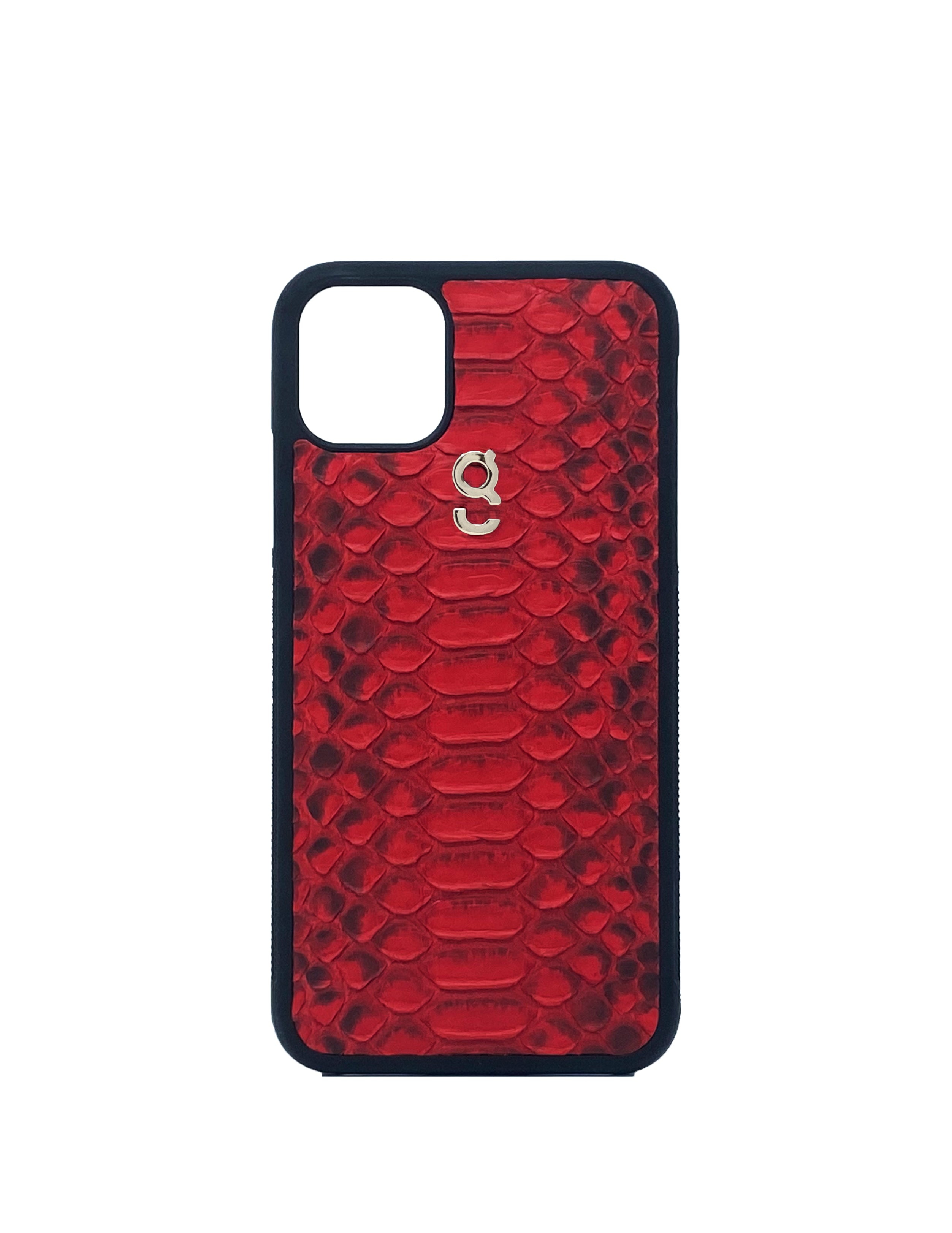 Red warm up  - iPhone case - gcoulee